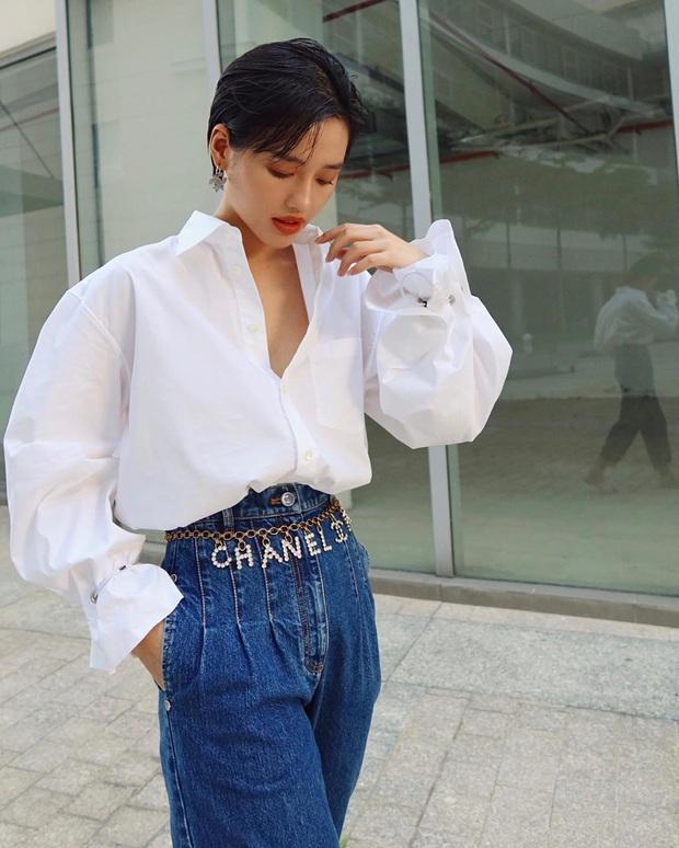 """Có một kiểu quần jeans sao Việt """"phát cuồng"""" mới đây nhưng Rosé thì đã diện suốt từ năm ngoái mới tài - Ảnh 4."""