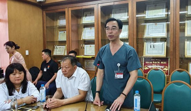 Hậu Covid-19: Bệnh viện Bạch Mai đóng cửa nhà tang lễ trong bệnh viện - Ảnh 1.