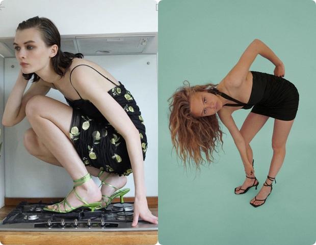 Dân tình khó mà chọn được đồ với cách tạo dáng quằn quại của người mẫu quảng cáo Zara - Ảnh 1.