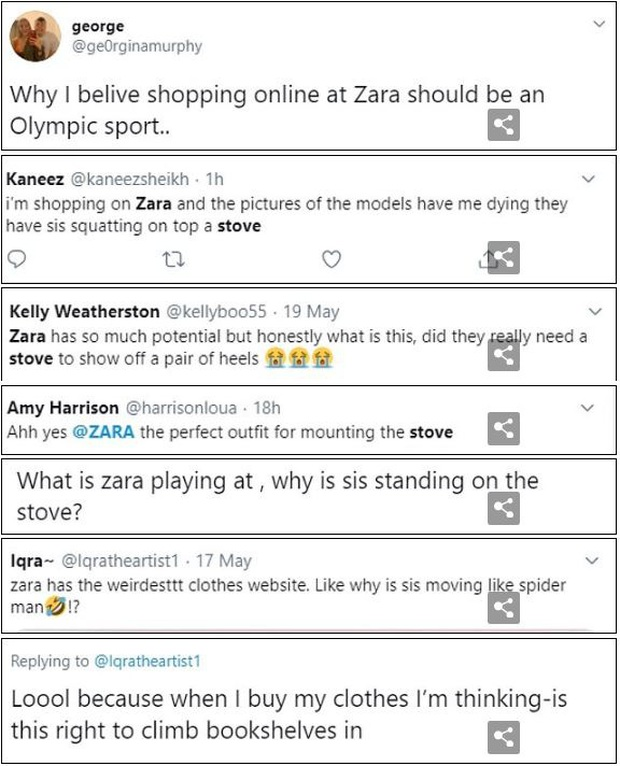 Dân tình khó mà chọn được đồ với cách tạo dáng quằn quại của người mẫu quảng cáo Zara - Ảnh 10.