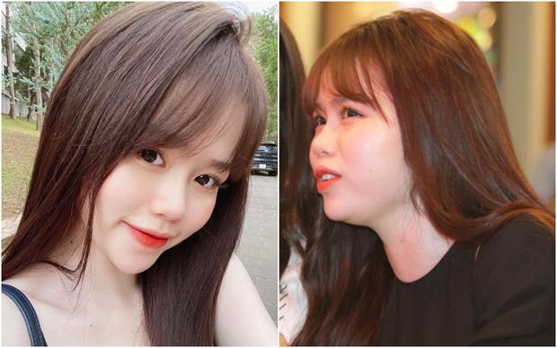 Bạn gái Quang Hải cũng không thoát khỏi cán cân ảnh trên mạng - ngoài đời: Bạn thích bên nào hơn? - Ảnh 2.