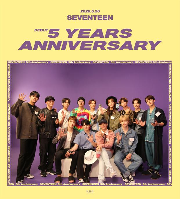 Hậu về chung nhà với BTS, SEVENTEEN kỉ niệm 5 năm debut với video cây nhà lá vườn, thành viên dính phốt Itaewon quá đa tài làm fan tự hào - Ảnh 2.
