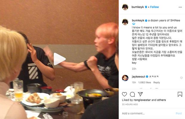 Key đăng clip Minho - Jonghyun cười đùa kỷ niệm 12 năm SHINee ra mắt, nhưng sao lại khiến hàng trăm fan bật khóc thế này? - Ảnh 3.