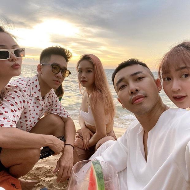 """Hoàng Ku đúng chuẩn """"anh trai xã hội"""" ai cũng mê: Lo Sun HT mổ mắt xong buồn chán, đặt luôn vé máy bay và resort 5 sao cho em gái đi chơi - Ảnh 5."""