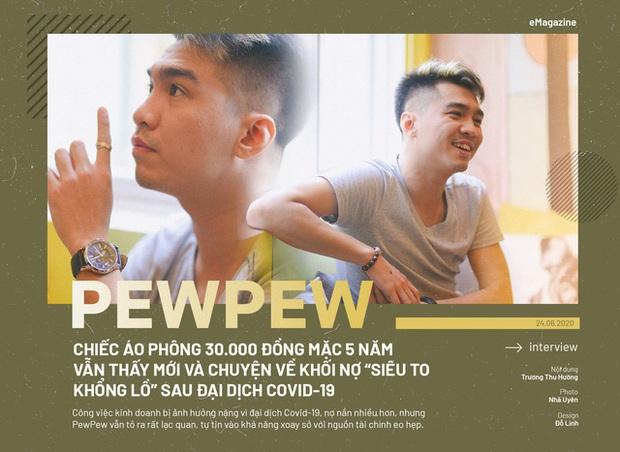 PewPew: Chiếc áo phông 30.000 đồng mặc 5 năm vẫn thấy mới và chuyện về khối nợ siêu to khổng lồ sau đại dịch Covid-19 - Ảnh 1.