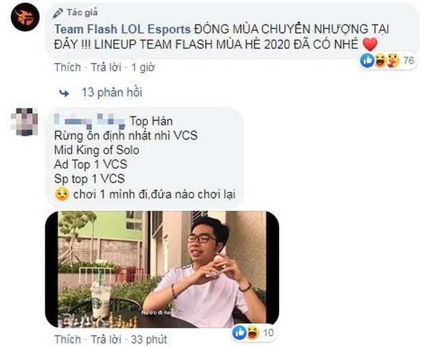 Team Flash chính thức có được Palette, game thủ Việt lo lắng cho VCS - chơi 1 mình đi ai chơi lại - Ảnh 2.