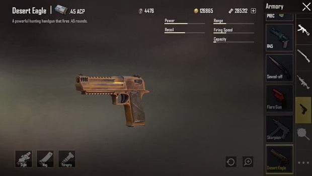 Hiểu rõ về Desert Eagle - Khẩu súng lúc được thèm muốn nhất trong PUBG Mobile - Ảnh 6.