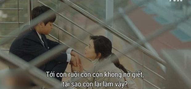 Cũng ly hôn như bà cả Thế Giới Hôn Nhân nhưng cách Lee Bo Young (Khi Tình Yêu Nở Rộ) dạy con lại khiến dân tình nể phục - Ảnh 2.