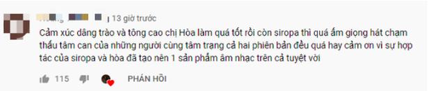 Sau ồn ào tranh cãi về giọng hát của Hoà Minzy trong hit mới, fanpage Mr. Siro bất ngờ công khai share reaction bênh vực nữ ca sĩ - Ảnh 2.