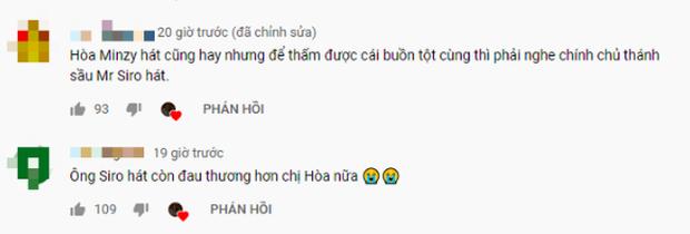 Sau ồn ào tranh cãi về giọng hát của Hoà Minzy trong hit mới, fanpage Mr. Siro bất ngờ công khai share reaction bênh vực nữ ca sĩ - Ảnh 3.