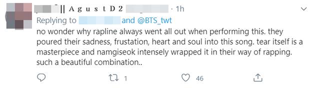 """Tiết lộ gây sốc của SUGA: Ca khúc cực """"chiến"""" của rap-line BTS được viết vào lúc nhóm bên bờ vực tan rã, 7 thành viên đều khóc khi nghe thử - Ảnh 6."""