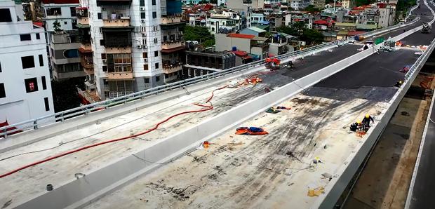 Hà Nội: Toàn cảnh tuyến đường trên cao gần 9.500 tỷ sau 2 năm thi công - Ảnh 5.