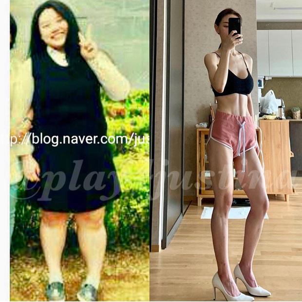 Từ 100kg xuống 50kg chỉ trong 2 năm, gái xinh Hàn Quốc chia sẻ bí quyết giảm cân thần sầu khiến ai cũng hâm mộ - Ảnh 3.