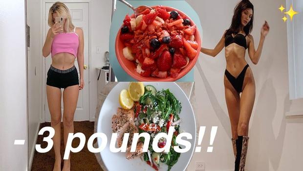 Thử chế độ ăn của các thiên thần nhà Victorias Secret, nàng vlogger giảm được 1,3kg trong 1 tuần mà chẳng cần tập luyện - Ảnh 1.