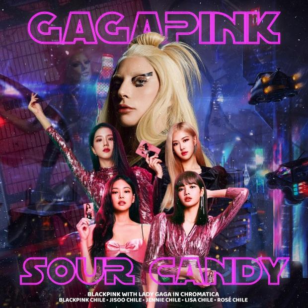 Lady Gaga thổ lộ cảm thấy tự hào khi là thành viên thứ 5 của BLACKPINK và Sour Candy sẽ có phiên bản tiếng Hàn? - Ảnh 1.