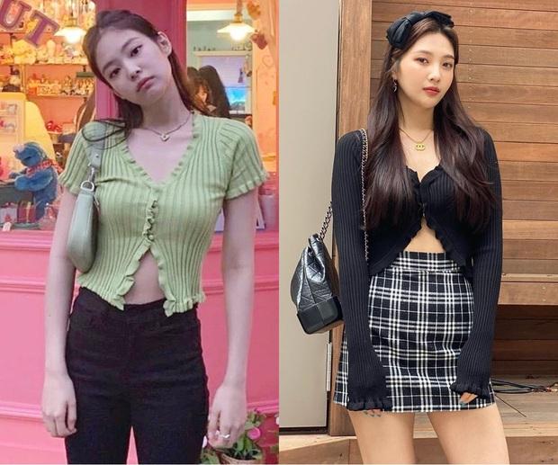 Joy ăn diện theo style ruột của Jennie, netizen tranh cãi: Kẻ kêu bắt chước, người bênh vực khen xinh - Ảnh 1.