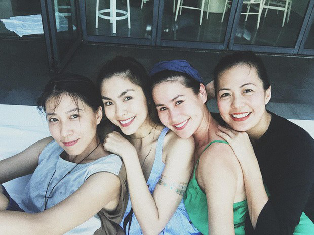 Hội bạn thân 10 năm showbiz tụ họp: Nhan sắc hậu tăng cân của Hà Tăng chiếm spotlight, càng nhìn càng hút hồn - Ảnh 4.
