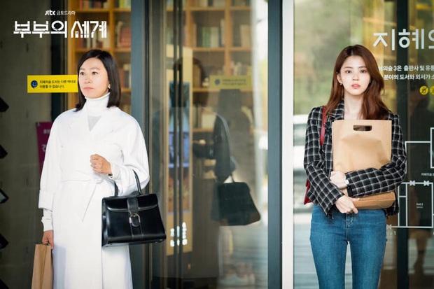 Han So Hee phân trần làm tiểu tam khó nhằn ở Thế Giới Hôn Nhân: Lo lắng nhất là khi phải đánh thẳng đầu bà cả Kim Hee Ae - Ảnh 4.