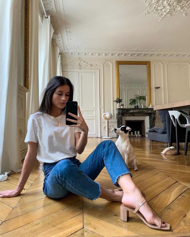 4 mẫu giày dép mùa Hè được lòng phụ nữ Pháp nhất vì diện thế nào cũng tinh tế và đẹp xinh khỏi nghĩ - Ảnh 15.
