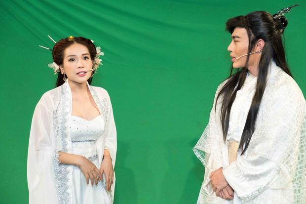 Liên tục rơi tóc giả khi diễn, Khả Như bị Lê Dương Bảo Lâm mắng te tua - Ảnh 7.