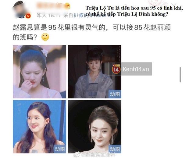 Blogger xứ Trung dự đoán Tiểu Song Hye Kyo sẽ soán ngôi Triệu Lệ Dĩnh, netizen hậm hực: Ngừng so sánh đi! - Ảnh 2.