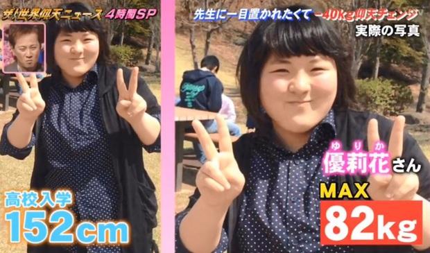 Cú giảm cân lột xác gây choáng nặng của nữ sinh Nhật Bản: quyết giảm từ 82kg xuống 42kg để tỏ tình với người thương - Ảnh 1.