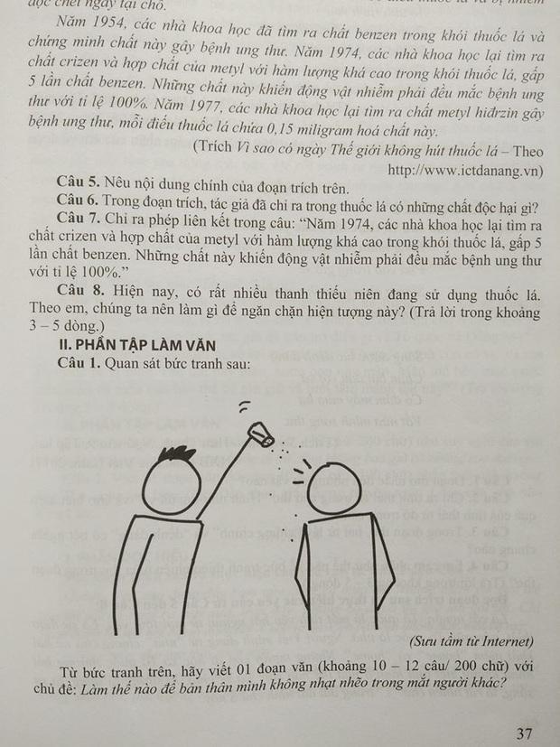 Đề thi Ngữ văn siêu mặn của giáo viên khiến học trò cười ngất, nhưng chất nhất vẫn là những lời phản bác của học trò - Ảnh 1.