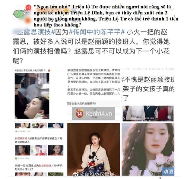Blogger xứ Trung dự đoán Tiểu Song Hye Kyo sẽ soán ngôi Triệu Lệ Dĩnh, netizen hậm hực: Ngừng so sánh đi! - Ảnh 5.