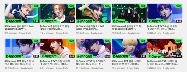 Thất thế trước ITZY mảng nhạc số tại Hàn đã đành, giờ TXT còn thua đau cả tân binh có thành viên hụt BLACKPINK ở mảng view trình diễn trên YouTube - Ảnh 12.