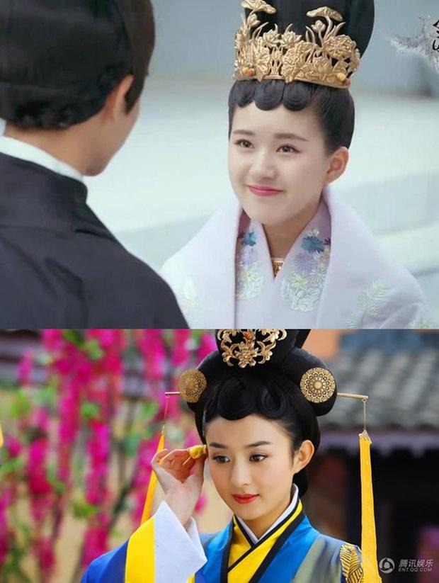 Blogger xứ Trung dự đoán Tiểu Song Hye Kyo sẽ soán ngôi Triệu Lệ Dĩnh, netizen hậm hực: Ngừng so sánh đi! - Ảnh 12.