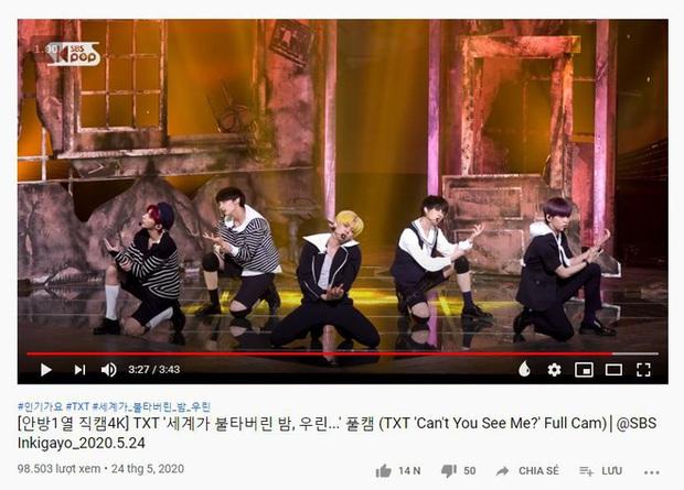 Thất thế trước ITZY mảng nhạc số tại Hàn đã đành, giờ TXT còn thua đau cả tân binh có thành viên hụt BLACKPINK ở mảng view trình diễn trên YouTube - Ảnh 10.