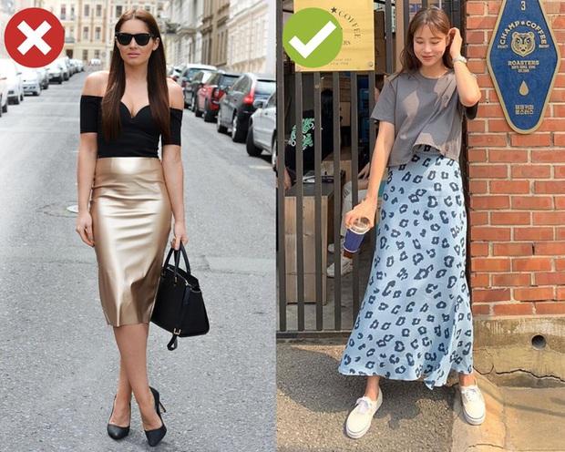 4 lỗi diện chân váy không dìm dáng thì cũng biến các chị thành cô nàng kém duyên từ công sở ra phố - Ảnh 2.