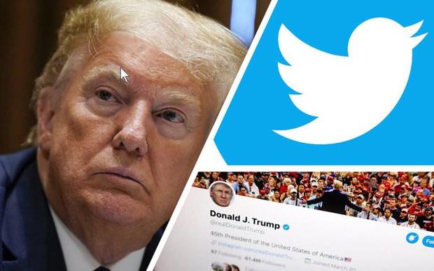 Bị Twitter dán nhãn thông tin thiếu xác thực, Tổng thống Trump dọa đóng cửa các công ty truyền thông xã hội - Ảnh 1.