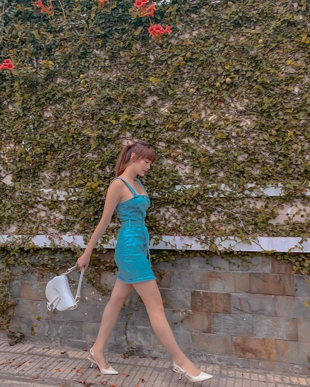 Minh Hằng và Lan Ngọc đều hack tuổi thần sầu nhờ váy denim, muốn mặc đẹp như họ nhưng không cưa sừng làm nghé thì bạn hãy nhớ vài tips - Ảnh 3.