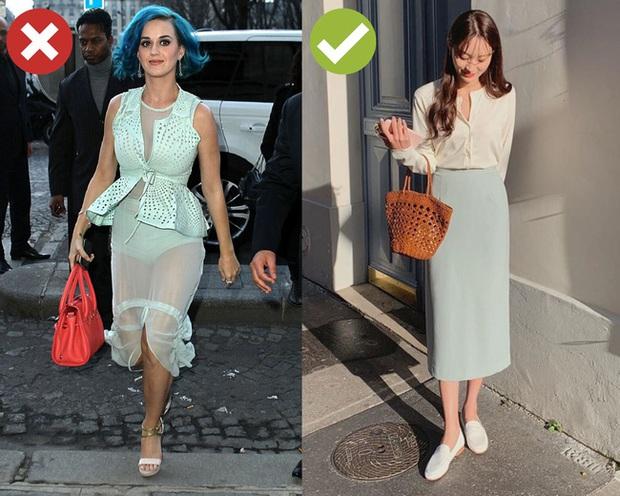 4 lỗi diện chân váy không dìm dáng thì cũng biến các chị thành cô nàng kém duyên từ công sở ra phố - Ảnh 4.