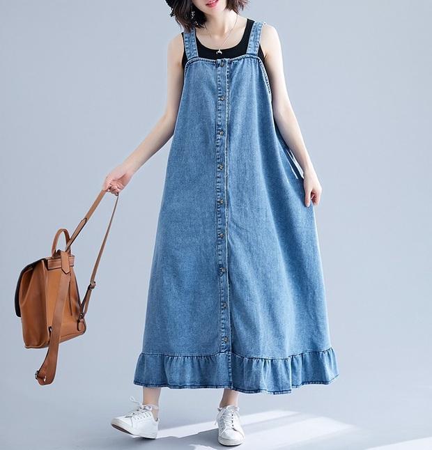 Minh Hằng và Lan Ngọc đều hack tuổi thần sầu nhờ váy denim, muốn mặc đẹp như họ nhưng không cưa sừng làm nghé thì bạn hãy nhớ vài tips - Ảnh 4.