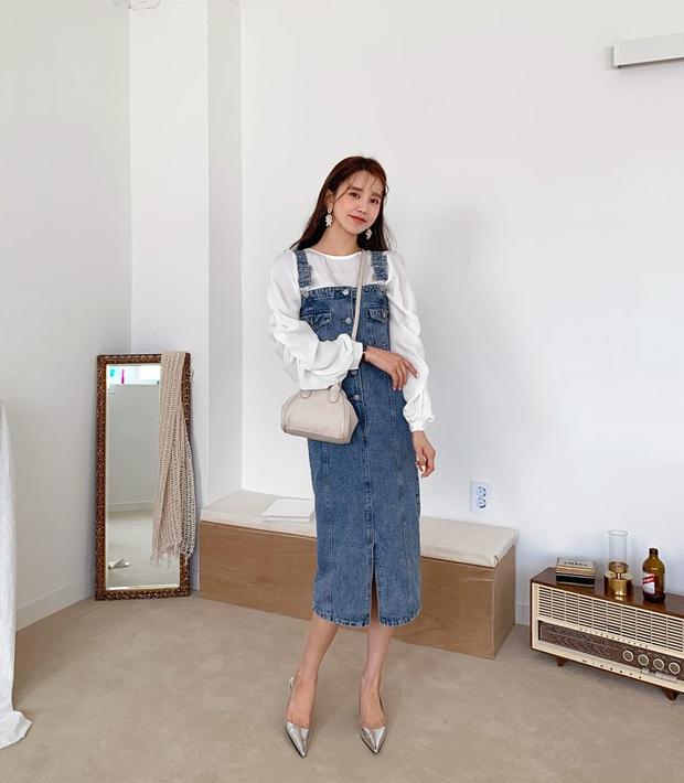 Minh Hằng và Lan Ngọc đều hack tuổi thần sầu nhờ váy denim, muốn mặc đẹp như họ nhưng không cưa sừng làm nghé thì bạn hãy nhớ vài tips - Ảnh 6.