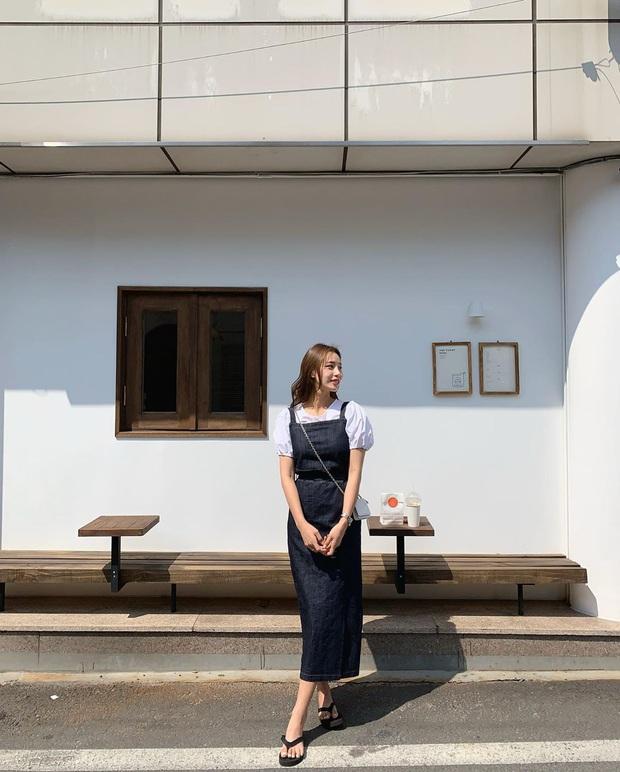 Minh Hằng và Lan Ngọc đều hack tuổi thần sầu nhờ váy denim, muốn mặc đẹp như họ nhưng không cưa sừng làm nghé thì bạn hãy nhớ vài tips - Ảnh 9.
