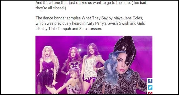 """""""Sour Candy"""" của Lady Gaga và BLACKPINK vừa ra mắt đã bị tố đạo Swish Swish của Katy Perry, nhưng sự thật là gì? - Ảnh 8."""