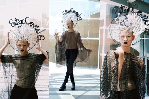 Đồ án cuối kỳ của sinh viên thời trang khiến dân mạng trầm trồ: Đến các nhà thiết kế lớn cũng phải ngậm ngùi nể phục - Ảnh 3.