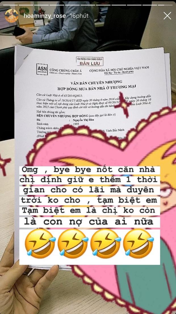 Hoà Minzy bất ngờ tuyên bố đã bán nhà để trả nợ cho Đức Phúc, chính thức không còn là con nợ sau khi thực hiện MV để đời! - Ảnh 5.