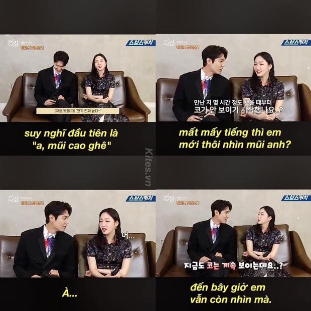 Nháo nhào khoảnh khắc Kim Go Eun nhìn Lee Min Ho đắm đuối: Sự chú ý của ta đã va phải bộ phận này của chàng - Ảnh 10.