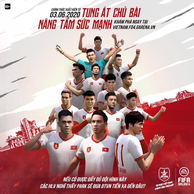 Tuấn Anh, Tiến Linh và quả bóng vàng Hùng Dũng chính thức góp mặt trong FIFA Online 4 - Ảnh 1.