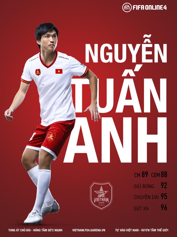 Tuấn Anh, Tiến Linh và quả bóng vàng Hùng Dũng chính thức góp mặt trong FIFA Online 4 - Ảnh 4.