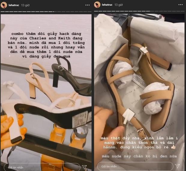 Vì đôi sandal này hack chân dài quá vi diệu mà bản sao Hà Tăng mê mẩn mua liền 3 đôi giống hệt - Ảnh 2.