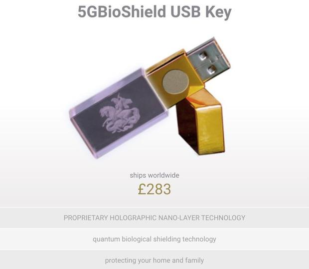 Anh: Dân tình được khuyên mua USB chống 5G, giá gần 10 triệu VNĐ mà chẳng khác gì USB thường - Ảnh 1.
