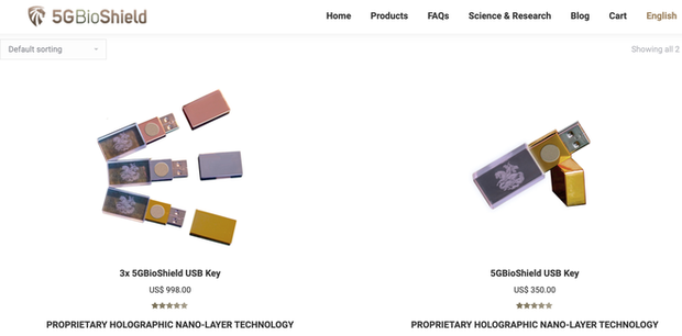 Anh: Dân tình được khuyên mua USB chống 5G, giá gần 10 triệu VNĐ mà chẳng khác gì USB thường - Ảnh 2.