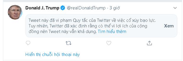 Dòng tweet có đúng 1 chữ CHINA! của Tổng thống Donald Trump lan truyền dữ dội trên các mạng xã hội - Ảnh 3.