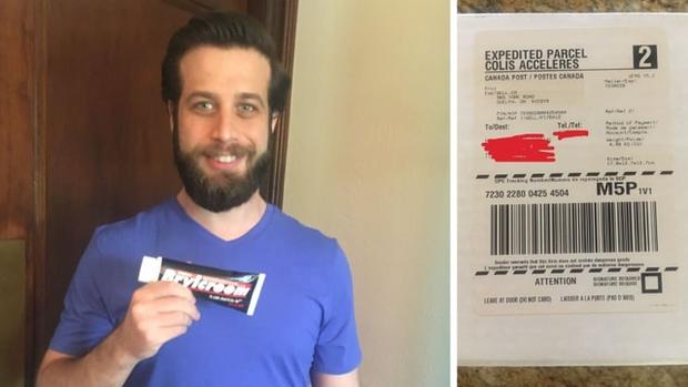 Đặt mua tuýp kem tạo kiểu tóc trên mạng xong quên luôn, 8 năm sau anh chàng nhận được gói hàng từ shipper và cái kết cười đau ruột - Ảnh 1.