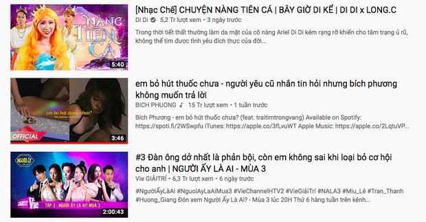 Ngồi trên #1 trending Youtube được gần 1 tuần, Bích Phương đã mất trắng ngôi vương vào tay một nữ hoàng nhạc chế không phải Hậu Hoàng - Ảnh 2.